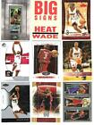 Dwyane Wade 2003-04 TOPPS ROOKIE MATRIX MINI AUTOGRAPH CARD & ROOKIE CARD