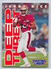 1996  JERRY RICE - Starting Lineup Card - SLU - SAN FRANCISCO 49ERS