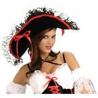 Pirate Hat Adult Womens Halloween Costume Fancy Dress