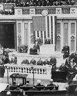 PRESIDENT COOLIDGE FIRST ADDRESS TO CONGRESS 16x20 SILVER HALIDE PHOTO PRINT