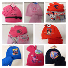GIRLS BOYS HATS GLOVES SETS - DISNEY - PEPPA PIG - THOMAS - FIREMAN SAM