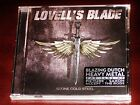Lovell's Blade: Stone Cold Steel CD 2017 Divebomb Records USA DIVE135 NEW