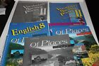 A Beka ABeka 8th grade 8 English Of Places Literature Vocabulary Spelling 9 book