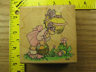 Rubber Stamp Precious Moments Hoppy Easter Stampendous Stampinsisters 872