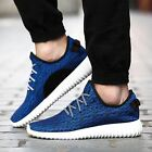 Mens Boots Gym Trainers Fitness Sports Running Casual Shoes Sneakers Navy 350