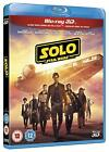 Solo A Star Wars Story 2018 3D + 2D Blu Ray with slipcover NEW IN STOCK NOW