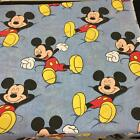 Disney Mickey Mouse bed sheet twin size flat fabric