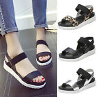 Women Summer Sandals Leather Flat Fashion Flip Flop Comfortable Ladies Shoes