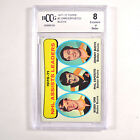 1971-72 Topps Orr Esposito Bucyk #8 70-71 Assists Leaders BGS BCCG 8