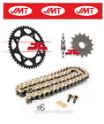 Honda XL125 V 80 km/h 2006 JMT Gold Chain & Sprocket Kit (520X2-110)