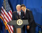 Barack Obama and Ted Kennedy at 2009 Event 11x14 Silver Halide Photo Print