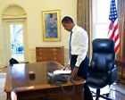 President Obama First Day in Oval Office 11x14 Silver Halide Photo Print
