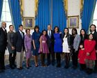 PRESIDENT OBAMA AND FAMILY ON INAUGURATION DAY 11x14 SILVER HALIDE PHOTO PRINT