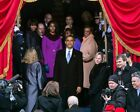 PRESIDENT OBAMA AT SWEARING-IN CEREMONY 2013 11x14 SILVER HALIDE PHOTO PRINT