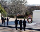PRESIDENT OBAMA AND BIDEN TOMB OF THE UNKNOWNS 11x14 SILVER HALIDE PHOTO PRINT