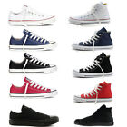 New ALL STARs Womens Chuck Taylor Ox Low High Top shoes casual Canvas Sneakers