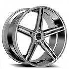4pcs set 20 Staggered Giovanna Gianelle Wheels Lucca Chrome Rims