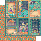 Graphic45 MUSIC MAKERS 12x12 Dbl Sided Scrapbooking 2pc Papers