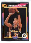 1992  REGGIE MILLER - Kenner - Starting Lineup Card - INDIANA PACERS