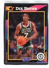 1992  DEE BROWN - Kenner - Starting Lineup Card - BOSTON CELTICS