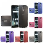 For LG Stylo 3 TPU Rubber Flexible Phone Skin Case Cover Transparent Clear