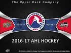 16-17 UPPER DECK AHL Team Logo Window Cling Box Topper SET (30)