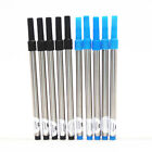 Jinhao10pcs Blue and black ink Screw type Refills Rollerball Pen New