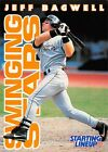 1996  JEFF BAGWELL - Starting Lineup Card - HOUSTON ASTROS