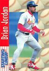 1997  BRIAN JORDAN - Starting Lineup Card - SLU - ST. LOUIS CARDINALS