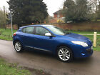 LARGER PHOTOS: 2009-59 RENAULT MEGANE I-MUSIC 1.6 PETROL VVT 100 BLUE 5 DOOR - 48,000 MILES