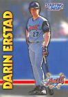 1999  DARIN ERSTAD - Starting Lineup Card - CALIFORNIA ANGELS