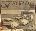 VINTAGE AMT 1957 FORD FAIRLANE MODEL CAR INSTRUCTION SHEET ONLY--OUT OF 60's