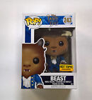 Funko POP! Disney Beauty and the Beast Beast 243 Hot Topic Flocked Exclusive
