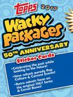 2017 WACKY PACKAGES SEALED HOBBY BOX 50TH ANNIVERSAY Trading Card Sticker NEW
