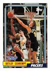 1993  DETLEF SCHREMPF - Kenner Starting Lineup Card - SLU - INDIANA PACERS