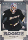 John Gibson Rookie Card Guide 14