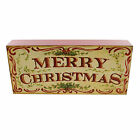 Christmas MERRY CHRISTMAS BLOCK ART Wood Plaque Sign Kate Mcrostie 2020150309