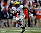Jabrill Peppers Michigan Wolverines Autographed 16 x 20 Running Photograph