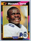 1992  MICHAEL IRVIN - Kenner Starting Lineup Card - DALLAS COWBOYS