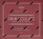 2016 Panini Immaculate Collegiate College NCAA Football Factory Sealed Hobby Box