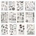 Butterfly Silicone Rubber Clear Stamp Seal Scrapbooking Diary Christmas Card DIY