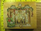 Rubber Stamp Victorian Fireplace Christmas Stamps Happen Stampinsisters 1494
