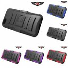 For iPhone 6 6S Plus Case HEAVY DUTY Rugged Armor With Belt Clip Holster