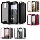 For LG Stylo 3 LS777 ZIZO ION Case Tempered Glass Tough Armor Hard Cover