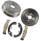 2pcs Premium Rear Brake Drum  4pcs Shoe Set Kit for Chevrolet Toyota Geo
