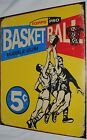 Vintage Replica Tin Metal Sign Topps picture cards box gum 1957 basketball 1405