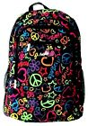 New Angels Peace Hearts  Stars Backpack 17 x 12