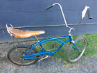 Schwinn Stingray Bicycle 20 Inch Blue Coaster Born in Oct 1968 Sting Ray