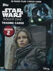 2017 Topps Star Wars Rogue One Series 2 Retail Blaster Box 10packs 1 Patch card