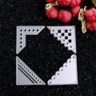 Metal Triangle Lace Cutting Dies Stencil DIY Scrapbooking Diary Template Decor